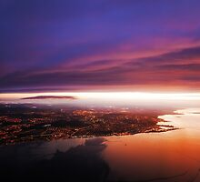 Nigh Flight over Edinburgh. Scotland by JennyRainbow