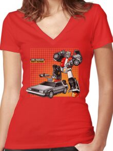 Marty McPrime Women's Fitted V-Neck T-Shirt