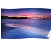 Sunset over Whitepark Bay Poster