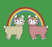 Adorable Llama Pride No Lettering Baby Tee