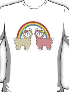 Adorable Llama Pride No Lettering T-Shirt