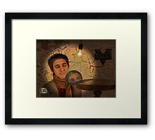 Paperweight Framed Print