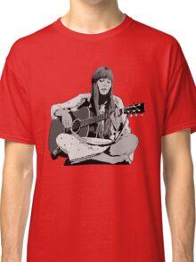 Joni Mitchell - Shaded Classic T-Shirt