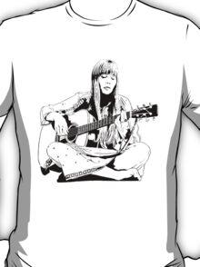 Joni Mitchell - Line T-Shirt