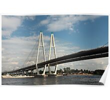 cable-stayed bridge Poster