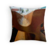 Rail - Depth Throw Pillow