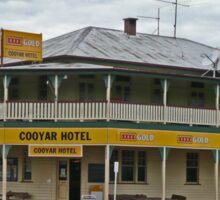 Cooyar Hotel, Queensland, Australia Sticker