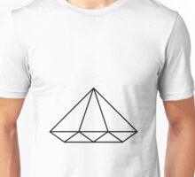 Fugitive Diamond - Clear Unisex T-Shirt