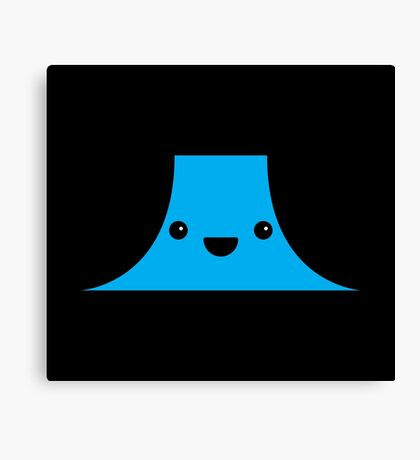 Cute Devil's Tower (Close Encounters of the Third Kind) Canvas Print