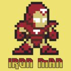 Iron Man 8 Bit by jpappas