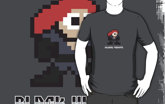 Black Widow 8 Bit by jpappas