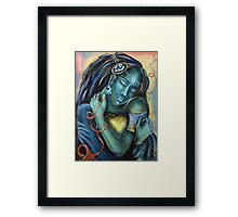 Queen of Her Own Heart Framed Print