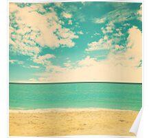 Retro Beach Poster