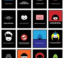 Cute Movie Posters by epitomegirl