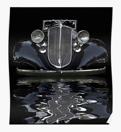 '33 Chrysler Flood Poster