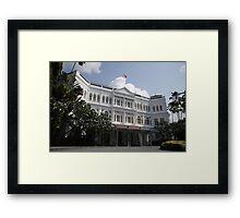 Raffles Hotel Framed Print