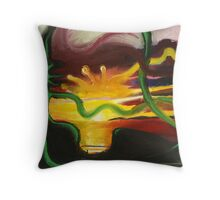 Sunset in Newfoundland Throw Pillow