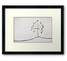 Tree of Luck Framed Print