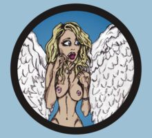 Emily Scott Angel Pinup by StevePaulMyers