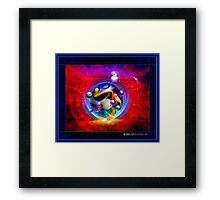 ColorHole Framed Print