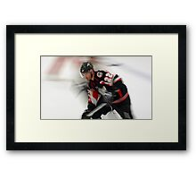Hockey at the Speed of Light Framed Print