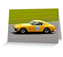 Ferrari 250 No 60 Greeting Card