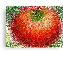 Pollock's Tomato Canvas Print