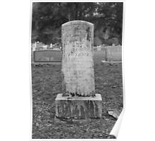 Cemetery Stone Poster