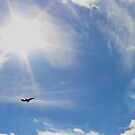 Flying Underneath The Sun - Republic Airport | Farmingdale, New York  by © Sophie W. Smith