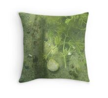 Seaweed Chicken Monster Throw Pillow