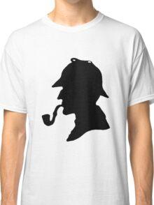 Sherlock Holmes Silhouette Classic T-Shirt