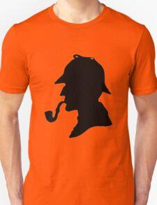 Sherlock Holmes Silhouette Unisex T-Shirt