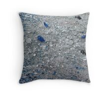 Crushed Murano Glass Throw Pillow