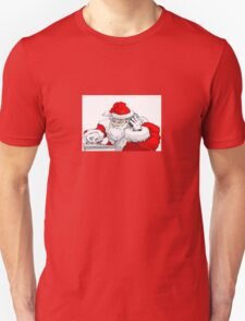 DJ Santa Claus Mixing The Christmas Party Track T-Shirt