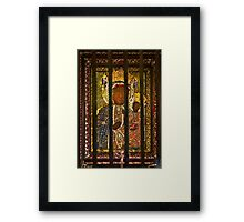 "Our Lady of Częstochowa  ""the Black Madonna""  as Queen and Protector of Poland . Framed Print"