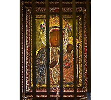"""Our Lady of Częstochowa  """"the Black Madonna""""  as Queen and Protector of Poland . Photographic Print"""
