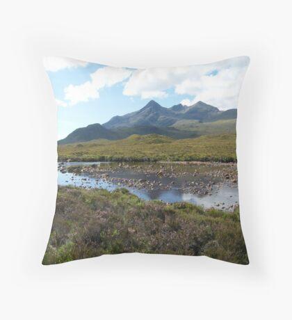 Cuillins - Isle of Skye Throw Pillow