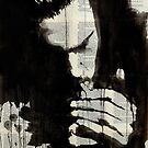 study for man smoking by Loui  Jover