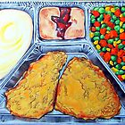 TV Dinner by kevincameronart