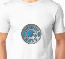 american football helmet lets party 2013 Unisex T-Shirt