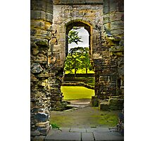 Through the Keyhole. Photographic Print