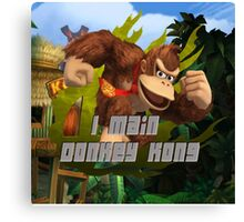 I MAIN DONKEY KONG Canvas Print