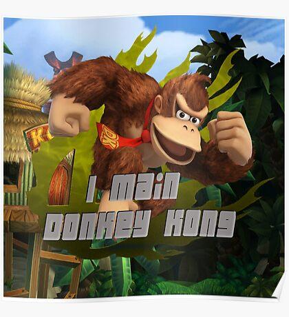 I MAIN DONKEY KONG Poster