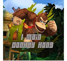 I MAIN DONKEY KONG Photographic Print
