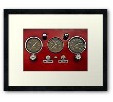 gauges 3 Framed Print