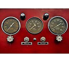 gauges 3 Photographic Print