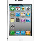 IPHONE FRONT - WHITE by mcdba