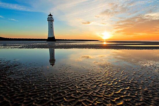 New Brighton Sunset by Drew Walker