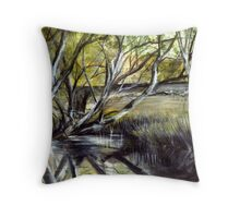 Mallee painting Throw Pillow