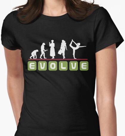 Evolve Yoga T-Shirt Womens Fitted T-Shirt